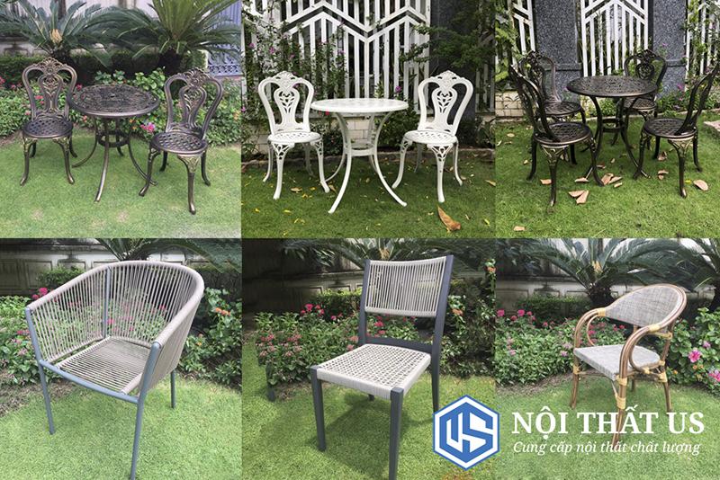 Sản xuất bàn ghế sân vườn nha trang